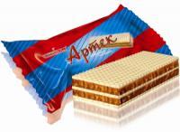 конфеты вафельные Артек
