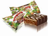 конфеты вафельные Тортюфель шоколадно-ореховый